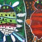 """01.04.2019 / """"Веселое и грустное"""" в Творческой студии. Автор работы: Кравченко Юля (5 лет)"""