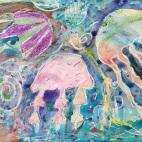 """20.04.2019 / """"Медузы"""" в Творческой студии. Автор работы: Упорова Алиса (9 лет)"""