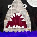"""29.04.2019 / """"Акула"""" в Творческой студии. Автор работы: Упорова Алиса (9 лет)"""