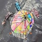 """05.05.2019 / """"Морская черепаха"""" в Творческой студии. Автор работы: Упоров Игорь (5 лет)"""