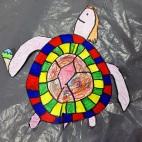 """05.05.2019 / """"Морская черепаха"""" в Творческой студии. Автор работы: Упорова Алиса (9 лет)"""