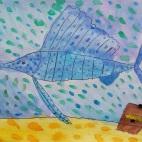 """15.05.2019 / """"Рыба-парусник"""" в Творческой студии. Автор работы: Борисова Анастасия (7 лет)"""