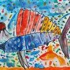 """15.05.2019 / """"Рыба-парусник"""" в Творческой студии. Автор работы: Ижболдина Маргарита (5 лет)"""