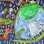 """13.05.2019 / """"Сон"""" в Творческой студии. Автор работы: Аксёнова Амелина (5 лет)"""