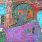 """13.05.2019 / """"Сон"""" в Творческой студии. Автор работы: Ушакова Алиса (5 лет)"""