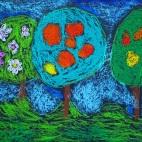 """13.05.2019 / """"Сад"""" в Творческой студии. Автор работы: Алпатов Максим (5 лет)"""