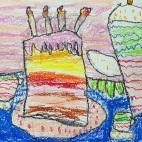 """27.05.2019 / """"Тортик"""". Автор работы: Кравченко Юля (5 лет)"""