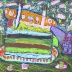"""27.05.2019 / """"Тортик"""". Автор работы: Аксёнова Амелина (5 лет)"""