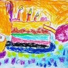 """27.05.2019 / """"Тортик"""". Автор работы: Алпатов Максим (5 лет)"""