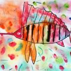"""15.05.2019 / """"Рыба-парусник"""" в Творческой студии. Детская группа (6-8 лет)"""