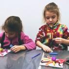 """19.02.2019 / """"Осьминог"""" в Творческой студии. Авторы: Ижболдины Маргарита (5 лет) и Мария (8 лет)"""