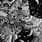 """23.03.2019 / """"Doodle"""" в Творческой студии. Автор работы: Павлова Милана Владимировна"""
