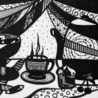 """23.03.2019 / """"Графика"""" в Творческой студии. Автор работы: Ландик Ольга Эдуардовна"""