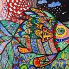 """06.04.2019 / """"Doodle"""" в Творческой студии. Автор работы: Агеева Татьяна Алексеевна"""
