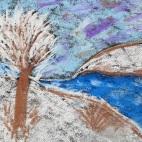 """10.04.2019 / Двухчасовой мастер-класс для взрослых """"Пастель. Времена года"""" в Творческой студии"""
