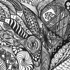 """11.05.2019 / """"Doodle"""" в Творческой студии. Автор работы: Агеева Татьяна Алексеевна"""