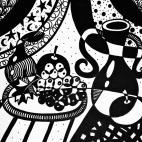 """13.11.2018 / """"Натюрморт"""" в Творческой студии. Автор работы: Паляруш Людмила Васильевна"""