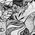 """16.02.2019 / """"Doodle"""" в Творческой студии. Автор работы: Храмова Ольга Игоревна"""
