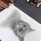 """23.02.2019 / """"Кошка"""" в Творческой студии, мастер-класс за 2 часа"""