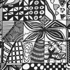 """02.03.2019 / """"Doodle"""" в Творческой студии. Автор работы: Пулькина Екатерина Александровна"""