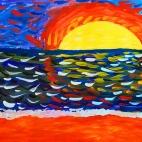 """21.05.2017 / Мастер-класс """"Летний день"""" в Библиотеке им. Лихачева"""