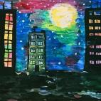 """28.05.2017 / Мастер-класс """"Ночной город"""" в Библиотеке им. Лихачева"""