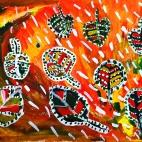 """02.11.2017 / Мастер-класс """"Осенние листья"""" в Библиотеке им. Лихачева"""