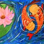 """05.04.2018 / Тема """"Карпы в пруду"""" в Библиотеке им. Лихачева"""