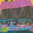 """Группа №1 / 06.09.2018 / Тема """"Утки на озере"""" в Библиотеке Удельнинской"""