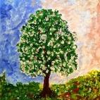 """20.07.2017 / Мастер-класс """"Цветущее дерево"""" в Библиотеке Удельнинской"""