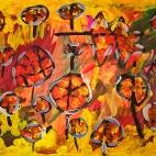 """02.11.2017 / Мастер-класс """"Осенние листья"""" в Библиотеке Удельнинской"""