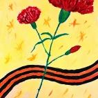 """14.12.2017 / Мастер-класс """"Гвоздика"""" в Библиотеке Удельнинской"""