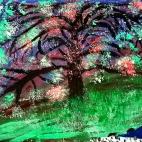 """Группа №2 / 25.10.2018 / Тема """"Цветущее дерево"""" в Библиотеке Удельнинской"""