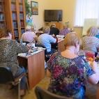 """16.08.2018 / Тема """"Зима"""" в Библиотеке Удельнинской"""