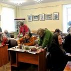 """07.12.2017 / Мастер-класс """"Опунция"""" в Библиотеке Удельнинской"""