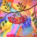 """27.09.2017 / Мастер-класс """"Рябинка"""" в Библиотеке """"Своя"""""""