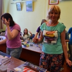 """30.07.2017 / Мастер-класс """"Корабли"""" в Библиотеке """"Своя"""""""