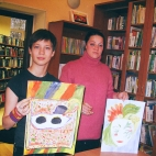 """07.11.2017 / """"Маски"""" в Библиотеке Батенинской"""