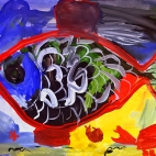 """10.08.2017 / Мастер-класс """"Рыбка"""" в Библиоцентре детского чтения"""