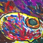 """07.10.2017 / Мастер-класс """"Птичка"""" в Библиоцентре детского чтения"""