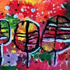 """04.11.2017 / Мастер-класс """"Осенние листья"""" в Библиоцентре детского чтения"""