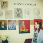 """28.08.17-15.09.17 / Персональная выставка """"Характер в портретах"""", Полина Голубко"""